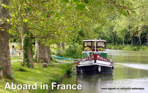 Aboard in France - The French canals, rivers and waterways guide